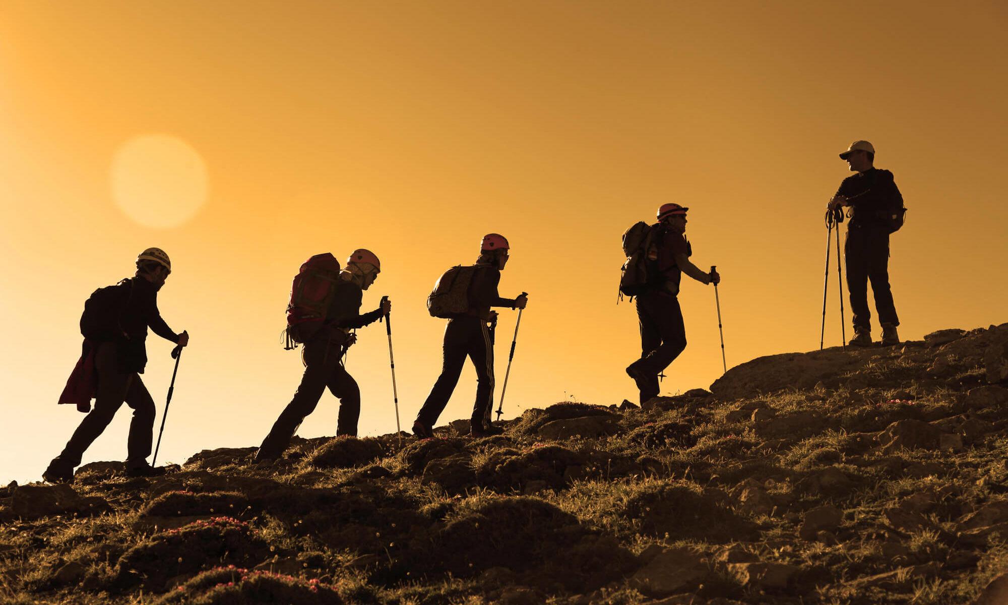 Bergtour-beim-Karwendelhaus